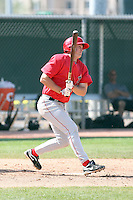 Dillon Baird, Los Angeles Angels 2010 minor league spring training..Photo by:  Bill Mitchell/Four Seam Images.