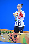 Eleanor &quot;Ellie&quot; Simmonds (GBR), <br /> SEPTEMBER 12, 2016 - Swimming : <br /> Women's 200m Individual Medley SM6 Medal Ceremony <br /> at Olympic Aquatics Stadium<br /> during the Rio 2016 Paralympic Games in Rio de Janeiro, Brazil.<br /> (Photo by AFLO SPORT)