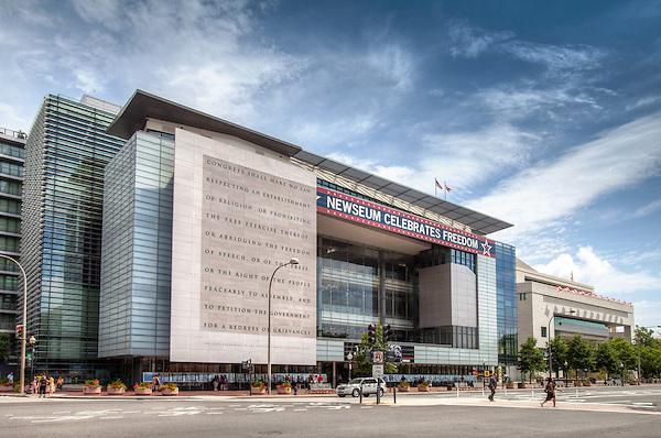 Newseum Washington DC Architecture