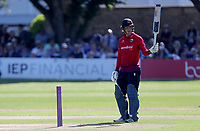 Tom Westley celebrates scoring fifty runs for Essex during Sussex Sharks vs Essex Eagles, Royal London One-Day Cup Cricket at The Saffrons on 3rd June 2018