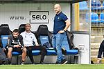 Waldhofs Trainer Bernhard Trares  beim Spiel in der Regionalliga Suedwest, SV Waldhof Mannheim - Kickers Offenbach.<br /> <br /> Foto &copy; PIX-Sportfotos *** Foto ist honorarpflichtig! *** Auf Anfrage in hoeherer Qualitaet/Aufloesung. Belegexemplar erbeten. Veroeffentlichung ausschliesslich fuer journalistisch-publizistische Zwecke. For editorial use only.