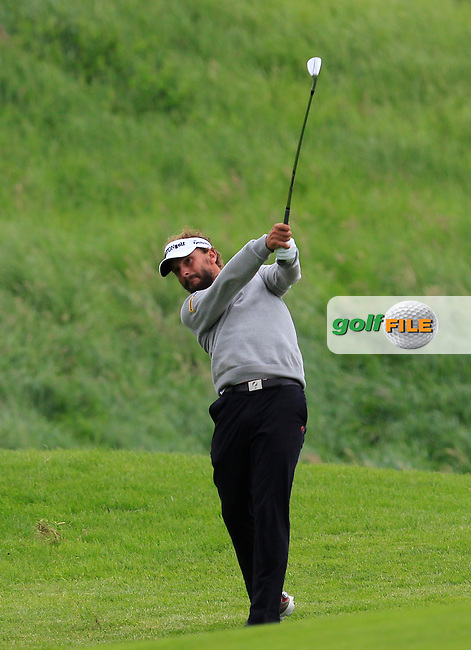 Joost Luiten (NED) on the 9th fairway during Round 4 of the 100th Open de France, played at Le Golf National, Guyancourt, Paris, France. 03/07/2016. <br /> Picture: Thos Caffrey | Golffile<br /> <br /> All photos usage must carry mandatory copyright credit   (&copy; Golffile | Thos Caffrey)