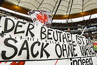 Eintracht Fans legen sich weiter mit Innenminister Peter Beuth an - 02.03.2019: Eintracht Frankfurt vs. TSG 1899 Hoffenheim, Commerzbank Arena, 24. Spieltag Bundesliga, DISCLAIMER: DFL regulations prohibit any use of photographs as image sequences and/or quasi-video.