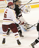 Patrick Wey (BC - 6), ? - The Boston College Eagles defeated the Providence College Friars 7-0 on Saturday, February 25, 2012, at Kelley Rink at Conte Forum in Chestnut Hill, Massachusetts.