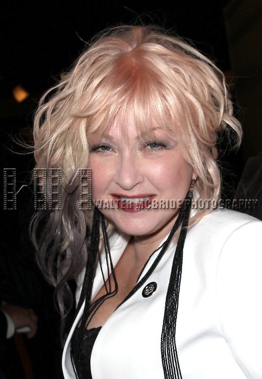 Cyndi Lauper attending the 2013 Tony Awards Meet The Nominees Junket  at the Millennium Broadway Hotel in New York on 5/1/2013...