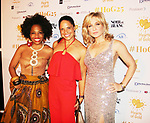 Rhonda Ross - Soledad O'Brien - Amy Carlson  - Hearts of Gold All That Glitters 25th Anniversary VIP Reception and Live Auction celebrating 25 years of support to New York City's homeless mothers and their children on November 7, 2019 at the 40/40 Club, New York City, New York.(Photo by Sue Coflin/Max Photos)