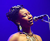Fatoumata Diawara<br /> performing live at The Royal Albert Hall (supporting AfroCubism). London, Great Britain <br /> 27th June 2011.<br /> <br /> <br /> (born 1982) is a Malian musician currently living in France. Born on the Ivory Coast.<br /> <br /> Her new EP was released May 9, 2011 and her debut album with World Circuit Records will be released in September 2011.