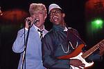 DAVID BOWIE & Carlos Alomar 1983.