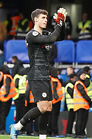 Chelsea's Kepa Arrizabalaga applauds the fans at the final whistle <br /> <br /> Photographer Stephanie Meek/CameraSport<br /> <br /> The Premier League - Chelsea v Everton - Sunday 8th March 2020 - Stamford Bridge - London<br /> <br /> World Copyright © 2020 CameraSport. All rights reserved. 43 Linden Ave. Countesthorpe. Leicester. England. LE8 5PG - Tel: +44 (0) 116 277 4147 - admin@camerasport.com - www.camerasport.com
