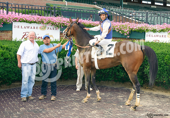 Bush Hill winning at Delaware Park on 7/13/15