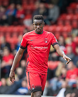 Teddy Mezague of Leyton Orient during the Sky Bet League 2 match between Leyton Orient and Wycombe Wanderers at the Matchroom Stadium, London, England on 1 April 2017. Photo by Andy Rowland.