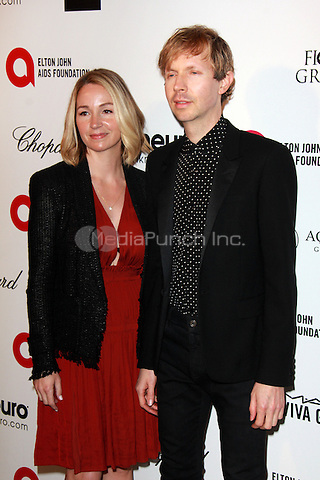 WEST HOLLYWOOD, CA - FEBRUARY 22: Beck at the 2015 Elton John AIDS Foundation Oscar Party in West Hollywood, California on February 22, 2015. Credit: David Edwards/DailyCeleb/MediaPunch