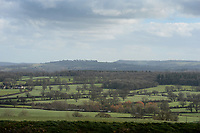BNPS.co.uk (01202 558833)<br /> Pic: ZacharyCulpin/BNPS<br /> <br /> The stunning landscape where the solar farm is proposed to be installed.  <br /> <br /> Thomas Hardy fans have slammed plans to build one of the UK's largest solar farms in the heart of Hardy Country.<br /> <br /> The enormous £20m solar farm would cover 187 acres, equivalent to 140 football pitches, and could produce enough power for more than 10,600 homes.<br /> <br /> But critics have said the application site, near the village of Longburton in Dorset, would be a blot on the farmland landscape that featured prominently in Hardy's Wessex novels.<br /> <br /> The proposed area at Stockbridge Farm is in the Blackmore Vale - which Hardy called the 'Vale of the Little Dairies' - and he writes about the landscape there in Tess of the D'Urbervilles (1891) and The Woodlanders (1887), as well as many of his poems.