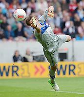 FUSSBALL   1. BUNDESLIGA  SAISON 2012/2013   3. Spieltag  15.09.2012 VfB Stuttgart - Fortuna Duesseldorf     Torwart Fabian Giefer (Duesseldorf) mit Ball