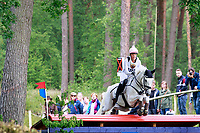 AUS-Isabel English rides Feldale Mouse during the Cross Country for the CIC3* Meßmer Trophy - German Eventing Championship, at the 2017 Luhmühlen International Horse Trial. Saturday 17 June. Copyright Photo: Libby Law Photography