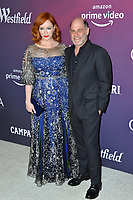 LOS ANGELES, CA. February 19, 2019: Christina Hendricks & Matthew Weiner at the 2019 Costume Designers Guild Awards at the Beverly Hilton Hotel.<br /> Picture: Paul Smith/Featureflash