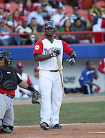 Salvador Paniagua / Dominican Republic - 2009 Caribbean Series, Mexicali..Photo by:  Bill Mitchell/Four Seam Images