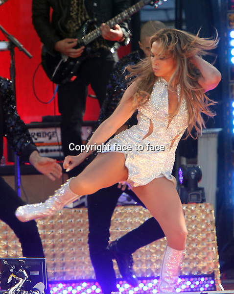 June 19, 2014: Jennifer Lopez perform at Good Morning America Concert Series at Rumsey Playfield/SummerStage in Central Park New York.<br />