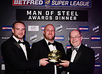 Picture by Simon Wilkinson/SWpix.com - 03/10/2017 - Rugby League BETFRED Super League Man of Steel Awards Dinner 2017 - The Steve Prescott MBE Man of Steel - Foundation Club of the Year Wigan Warriors