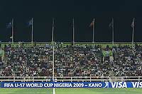Sani Abacha Stadium.  Spain defeated the U.S. Under-17 Men National Team  2-1 at Sani Abacha Stadium in Kano, Nigeria on October 26, 2009.