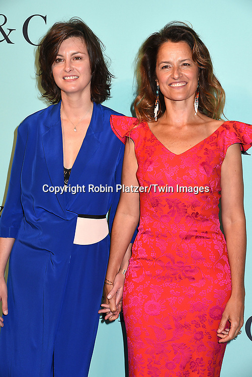 Trish Goff &amp; Dudu Douglas Hamilton attends the Tiffany &amp; Co 2017 Blue Book Collection on April 21, 2017 at St Ann's Warehouse in Brooklyn, New York, USA.<br /> <br /> photo by Robin Platzer/Twin Images<br />  <br /> phone number 212-935-0770