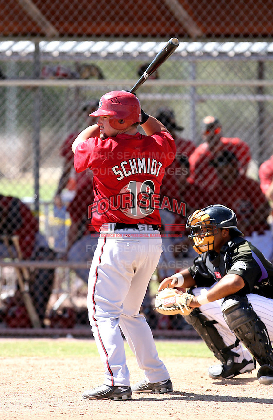 Konrad Schmidt / Arizona Diamondbacks 2008 Instructional League..Photo by:  Bill Mitchell/Four Seam Images