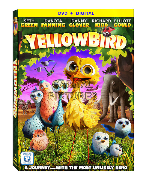 Yellowbird (2014)<br /> (Gus - Petit oiseau, grand voyage)<br /> DVD COVER ART<br /> *Filmstill - Editorial Use Only*<br /> CAP/KFS<br /> Image supplied by Capital Pictures