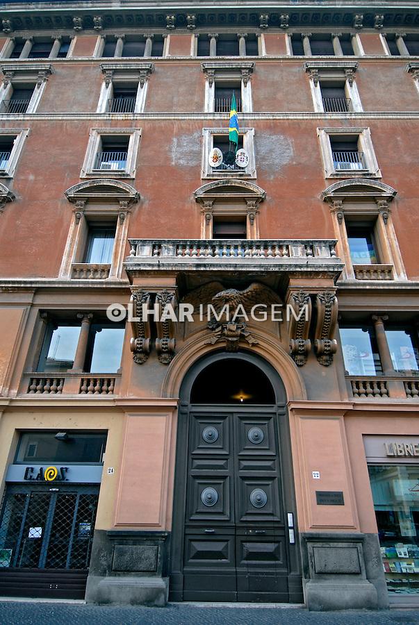 Embaixada do Brasil no Vaticano. Roma. Itália. 2006. Foto de Luciana Whitaker.