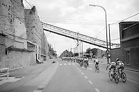 The Belgium Tour also passes through some old industrial regions in Wallonia<br /> <br /> 2014 Belgium Tour<br /> (final) stage 5: Oreye - Oreye (179km)
