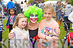Pictured at Ardfert family fun day on Sunday were l-r: Belle McDonagh, Grainne Murphy and Toireasa Ferris (centre)..