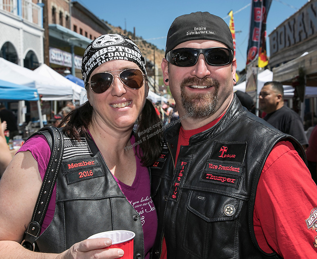 Rick and Jen Brenner at the 34th Annual Chili on the Comstock Cook Off in Virginia City on Sunday, May 21, 2017.