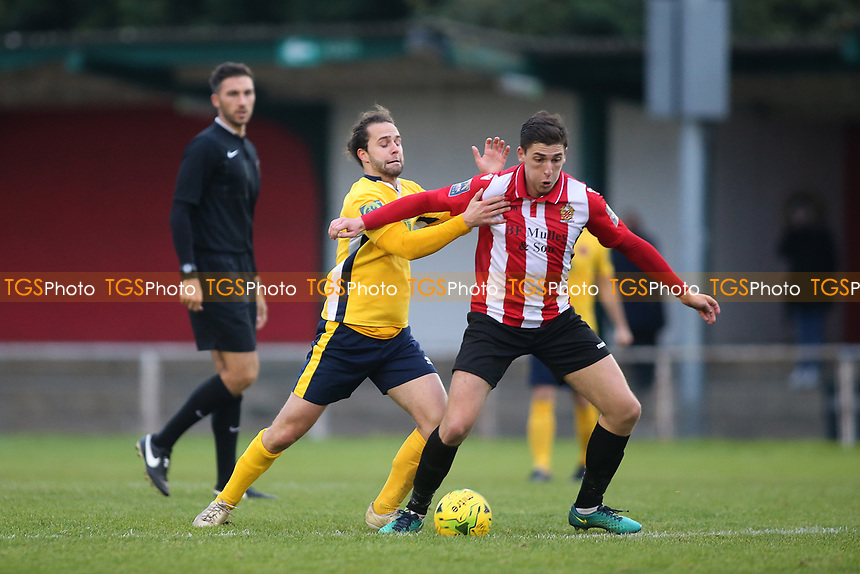 Jed Chouman of Hornchurch during AFC Hornchurch vs Witham Town, Bostik League Division 1 North Football at Hornchurch Stadium on 4th November 2017