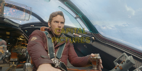 Chris Pratt<br /> in Guardians of the Galaxy (2014) <br /> *Filmstill - Editorial Use Only*<br /> CAP/FB<br /> Image supplied by Capital Pictures
