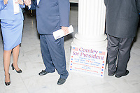 Comley for President sign - NH State House - Concord, NH - 4 Nov. 2015