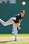 2 March 2011: Florida Marlins pitcher Brian Sanches in action during a Spring Training game against the Washington Nationals at Space Coast Stadium in Viera, Florida. The Nationals defeated the Marlins 8-4 in Grapefruit League action. Mandatory Credit: Ed Wolfstein Photo