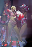 Miley Cyrus performs during her Bangerz Tour at the Toyota Center  Sunday  March 16, 2014.(Dave Rossman photo)