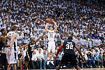 10-11mBKB SDSU 0182.CR2..10-11mBKB vs SDSU..#9 BYU-71.#4 SDSU-58.January 26, 2011..Photo by Jaren Wilkey/BYU..© BYU PHOTO 2011.All Rights Reserved.photo@byu.edu  (801)422-7322