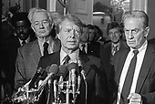 United States President-elect Jimmy Carter in the US Capitol in Washington, DC on November 23, 1976.<br /> Credit: Benjamin E. &quot;Gene&quot; Forte / CNP