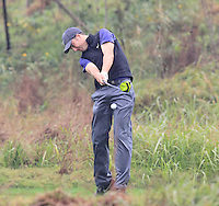 Ross Fisher (ENG) tees off the 3rd tee during Thursday's Round 1 of the 2014 BMW Masters held at Lake Malaren, Shanghai, China 30th October 2014.<br /> Picture: Eoin Clarke www.golffile.ie