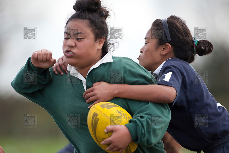 Counties Manukau Rugby Unions Girls Day Out Rugby tournament held at Bruce Pulman Park Papakura on June 22nd 2011. Greenmeadows School won the tournament after defeating Randwick Park School in the final.