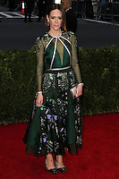 "NEW YORK CITY, NY, USA - MAY 05: Sarah Paulson at the ""Charles James: Beyond Fashion"" Costume Institute Gala held at the Metropolitan Museum of Art on May 5, 2014 in New York City, New York, United States. (Photo by Xavier Collin/Celebrity Monitor)"