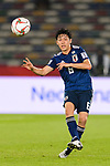 Endo Wataru of Japan in action during the AFC Asian Cup UAE 2019 Group F match between Oman (OMA) and Japan (JPN) at Zayed Sports City Stadium on 13 January 2019 in Abu Dhabi, United Arab Emirates. Photo by Marcio Rodrigo Machado / Power Sport Images
