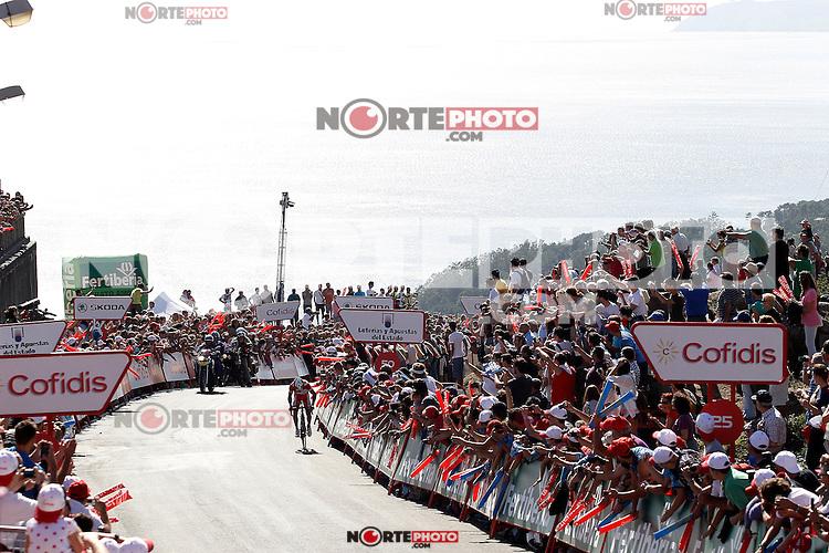 Joaquin Purito Rodriguez during the stage of La Vuelta 2012 between Vilagarcia de Arousa and Mirador de Erazo (Dumbria).August 30,2012. (ALTERPHOTOS/Acero) /NortePhoto.com<br /> <br /> **CREDITO*OBLIGATORIO** <br /> *No*Venta*A*Terceros*<br /> *No*Sale*So*third*<br /> *** No*Se*Permite*Hacer*Archivo**<br /> *No*Sale*So*third*