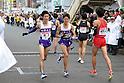 (L to R) Hiromitsu Kakuage (Komazawa-Univ), Kenta Murayama (Komazawa-Univ), JANUARY 2, 2012 - Athletics : The 88th Hakone Ekiden Race the Tsurumi Relay place in Kanagawa, Japan. (Photo by Atsushi Tomura/AFLO SPORT) [1035].