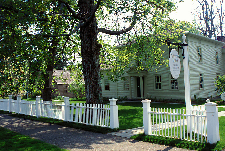 law school, Lichtfield Hills, Tapping Reeve house & Law School, America's first School of Law in Litchfield, Connecticut.