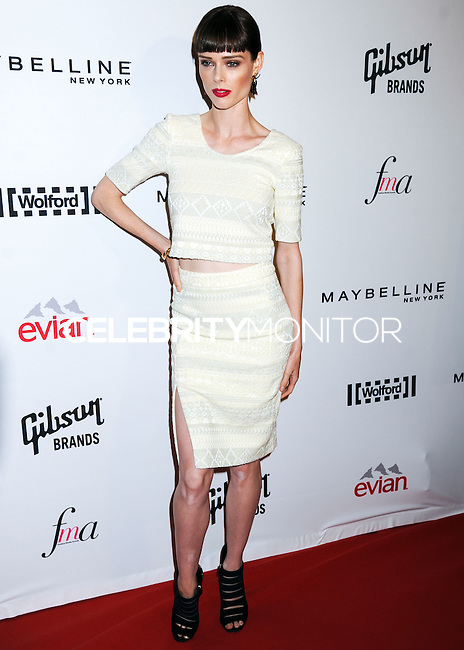 NEW YORK CITY, NY, USA - SEPTEMBER 05: Coco Rocha arrives at the 2nd Annual Fashion Media Awards held at the Park Hyatt on September 5, 2014 in New York City, New York, United States. (Photo by Celebrity Monitor)