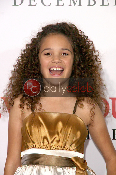 Madison Pettis <br /> at the Los Angeles Premiere of 'Seven Pounds'. Mann Village Theatre, Westwood, CA. 12-16-08<br /> Dave Edwards/DailyCeleb.com 818-249-4998
