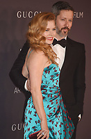 LOS ANGELES, CA - NOVEMBER 04: Actors Amy Adams (L) and Darren Le Gallo attend the 2017 LACMA Art + Film Gala Honoring Mark Bradford and George Lucas presented by Gucci at LACMA on November 4, 2017 in Los Angeles, California.<br /> CAP/ROT/TM<br /> &copy;TM/ROT/Capital Pictures