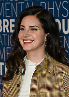 MOUNTAIN VIEW, CA - NOVEMBER 04: Lana Del Rey attends the 2019 Breakthrough Prize at NASA Ames Research Center on November 4, 2018 in Mountain View, California. <br /> CAP/MPI/SPA<br /> &copy;SPA/MPI/Capital Pictures