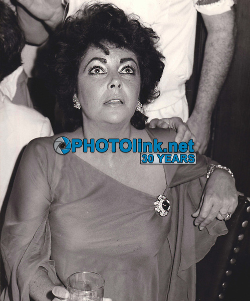Elizabeth Taylor 1985<br /> Photo By John Barrett/PHOTOlink